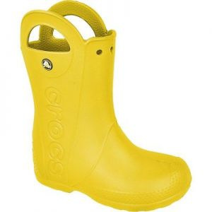 Kalosze Crocs Handle It Kids 12803 żółte