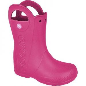 Kalosze Crocs Handle It Kids 12803 różowe